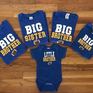 Big Brother/ Sister Football Shirt